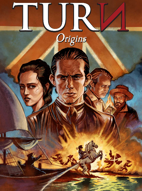 comic - origins cover