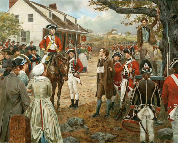 Nathan Hale by Don Troiani