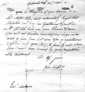 moffet letter