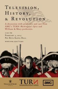 TV, History, and Revolution flyer