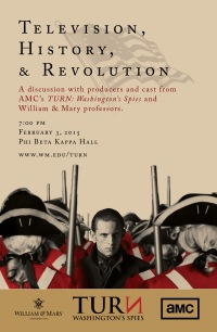 TV, History, and Revolution flyer