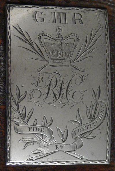 Hewlett Belt Plate