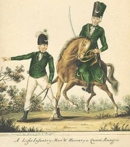 Queen's Rangers Light Infantry and Hussars
