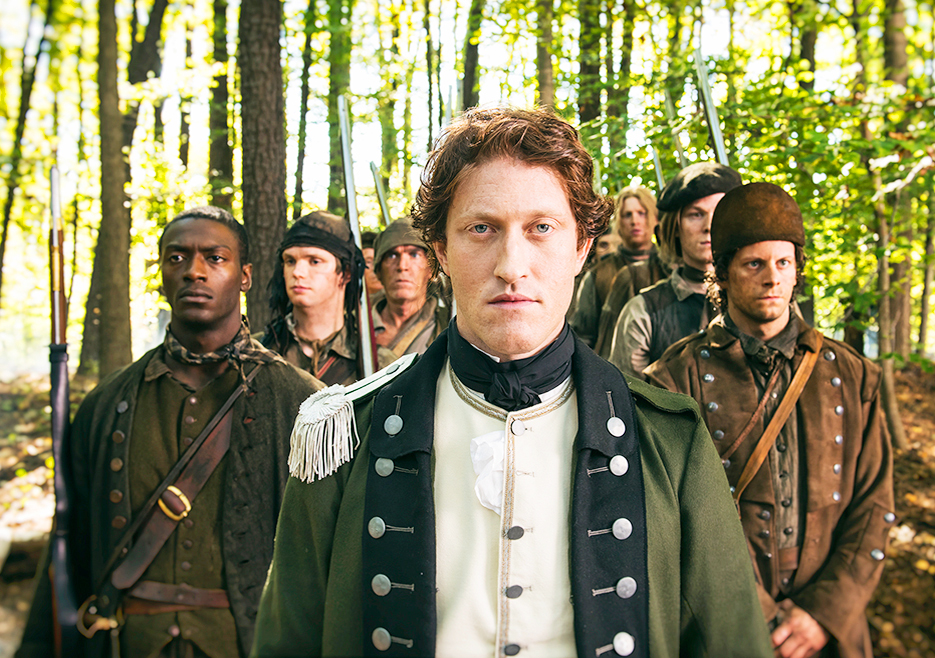 Simcoe takes command reforming the queen s rangers in 1777